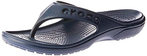 Crocs, Baya Summer Flip U, Sandali, Uomo, Blu (Blau (Navy 410)), 43-44