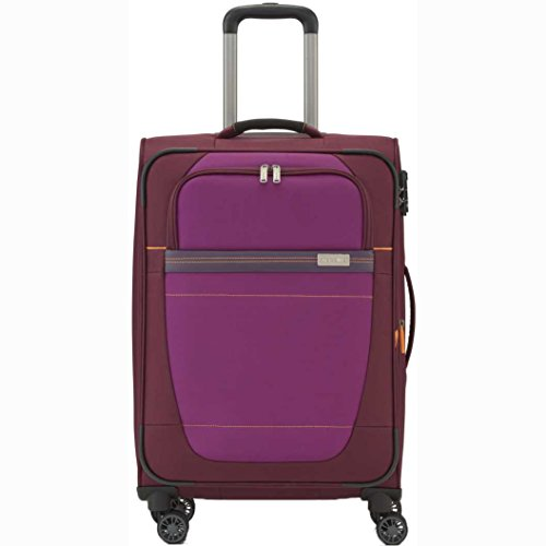 """Travelite Valise trolley """"Meteor"""" avec 2 roues Taille M rouge Koffer, 63 cm, 80 liters, Rot (Rouge)"""