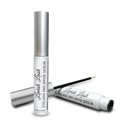 Pronexa Hairgenics Lavish Lash  Eyelash Growth Enhancer & Brow Serum with Biotin & Natural Growth Peptides for Long, Thick Lashes and Eyebrows! Dermatologist Certified, Cruelty Free & Hypoallergenic.