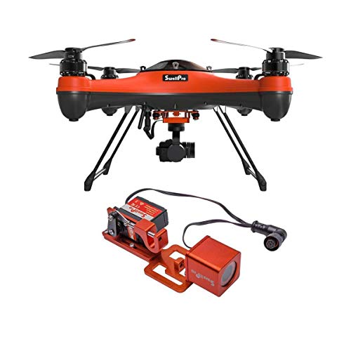 SwellPRO SplashDrone 3+ Waterproof Drone - with PL2 Waterproof Payload Release Mechanism with HD FPV Camera