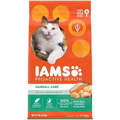 IAMS-PROACTIVE-HEALTH-Adult-Hairball-Care-Protein-Rich-Hairball-Control-Dry-Cat-Food-with-Chicken-and-Salmon-7-lb-Bag