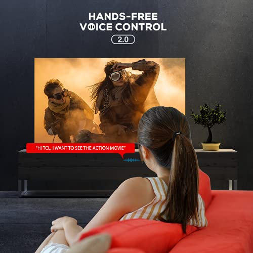 41SExiDb GS TCL 163.9 (65 inches) 4K Extremely HD Licensed Android Good QLED TV 65C725 (Black) (2021 Mannequin) | With Video Name Digicam
