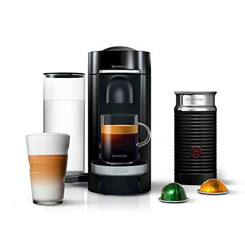 Nespresso VertuoPlus Deluxe Coffee and Espresso Maker Bundle with...