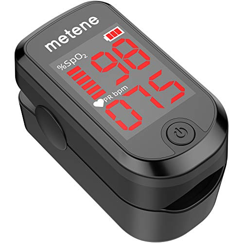 Metene Blood Oxygen Saturation Monitor Heart Rate Monitor Meter