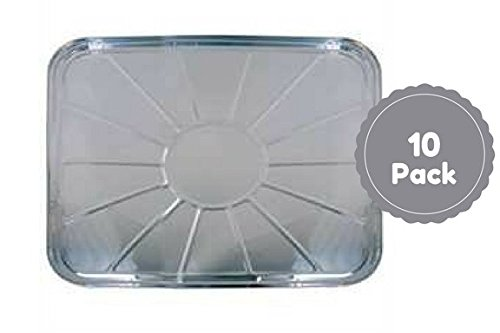 Disposable Aluminum Foil Oven Liners For Bottom Of Oven Set Of 10 Count 18.5 X 15.5 Inches