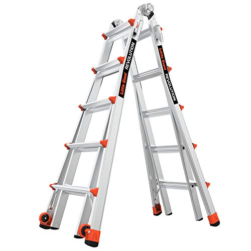 Little Giant Ladders, Revolution, M22, 6-18 foot,...