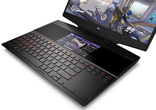 HP Omen X 2S Core i9 9th Gen 15.6-inch Dual Screen Gaming Laptop (16GB/2TB SSD/Windows 10/8GB NVIDIA RTX 2080 Graphics/Shadow Black), 15-dg0019TX 5