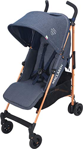 Maclaren Passeggino Quest - Super accessoriato, leggero, compatto. Newborn Safety System,...