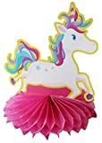 UNICORN & Rainbow Beautiful table centerpiece 6 pack – 3 of each design
