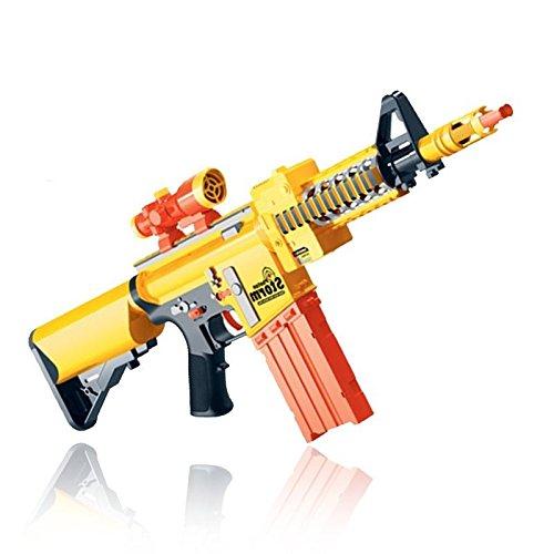 MTS Photon Storm - Pistola de juguete eléctrica semiautomática con balas de espuma (20 balas)