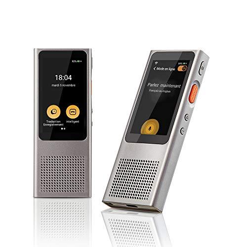 Langogo Minutes Wi-Fi Traducteur Vocal Instantané, Enregistreur de...
