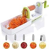 Spiralizer Twinzee - Spiraliseur de légumes compacte 5 Lames...