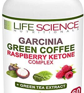 The Original 4-in-1 Garcinia Cambogia, Green Coffee Bean, Raspberry Ketones & Green Tea Extract 1300mg Dr. Recommended for Fat Burn, Weight Loss & Appetite Suppressant (60 Caps, 4 oz) 14 - My Weight Loss Today