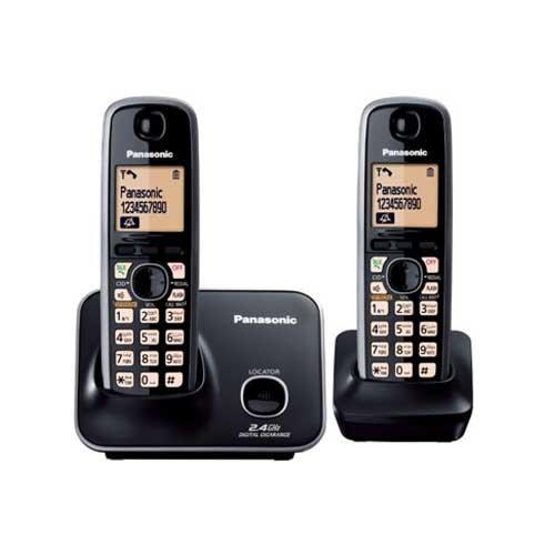 Panasonic KX-TG3712 Cordless Phone (Black)