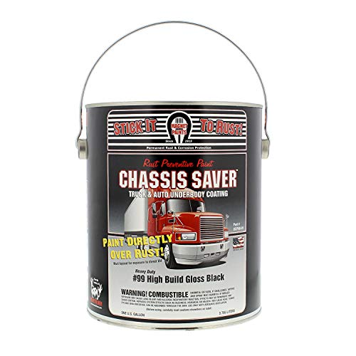 Magnet Paint UCP99-01 Chassis Saver Rust Preventative Paint Gloss Black, 1 Gallon