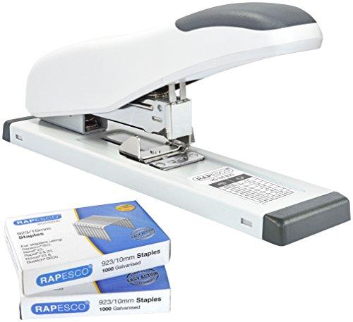 Rapesco cucitrice HD-100 ECO (bianco) e 2.000 punti 923/10mm
