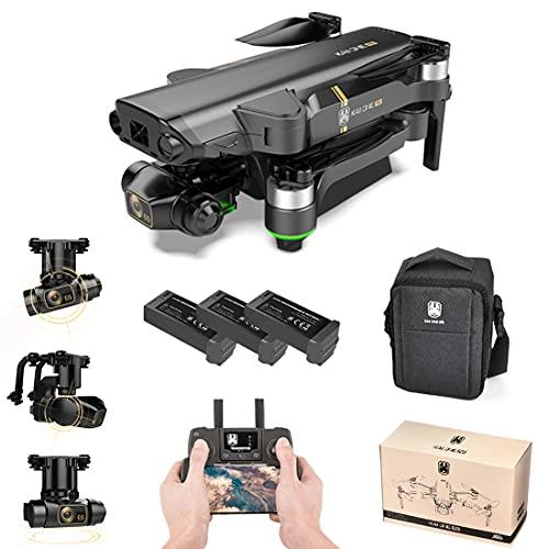 LICI KAIONE PRO Collassabile Fotografia Aerea Drone,5G 4K HD GPS 3 Assi EIS Gimbal,Senza Spazzole 4 Assi RC Drone,20 Minuti di Volo,con Borsa Portatile