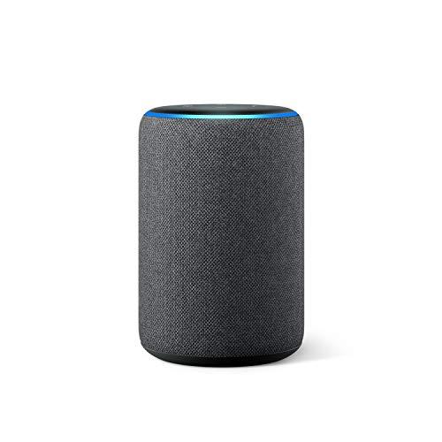 Nuevo Amazon Echo (3.ª generación) - Altavoz inteligente con Alexa - tela de color antracita