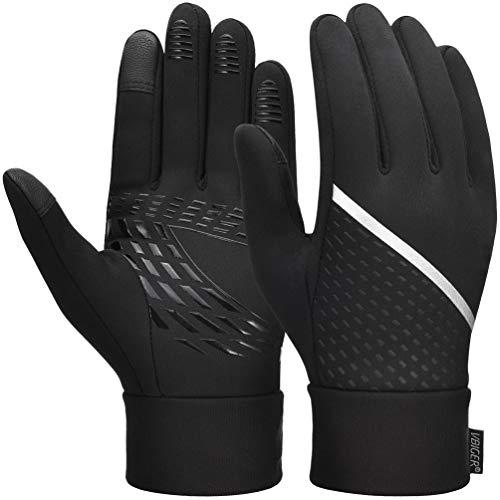 VBIGER Guanti invernali Touch Screen Guanti guanti per la stagione fredda con palmo antiscivolo e...