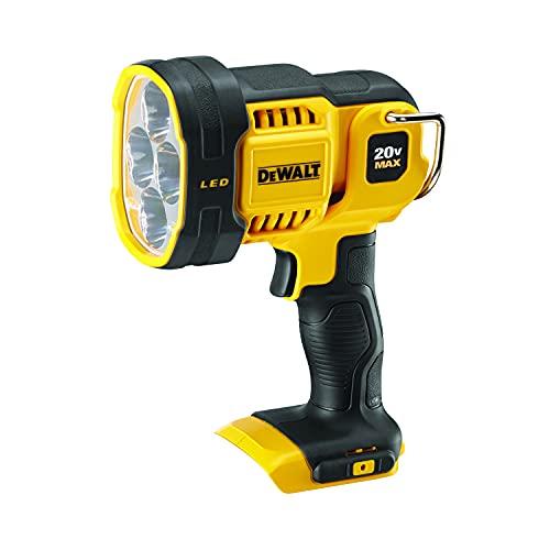 DEWALT 20V MAX LED Work Light, Pivoting Head (DCL043) , Red