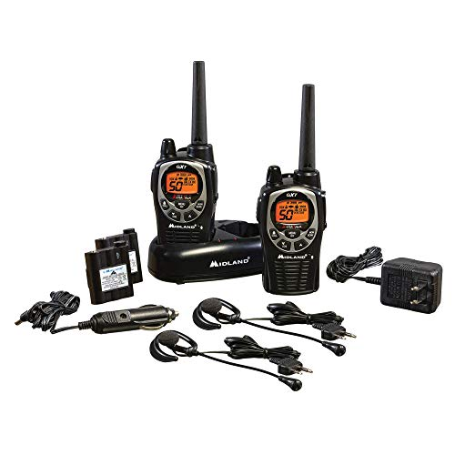 Midland - GXT1000VP4, 50 Channel GMRS Two-Way Radio - Up to...