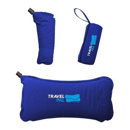 Travel Pal Self Inflating Lumbar Support Pillow Black (Lifetime Warranty)