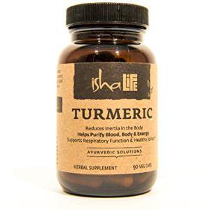 Isha Organic Turmeric Curcumin Supplement 990 mg — Natural Ayurvedic Herbal Cleanser and Purifier - Reduces Inflammation… 22