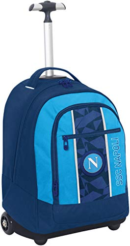 ssc napoli Napoli Sprint Set per la Scuola, 55 Cm, Dresden Blue