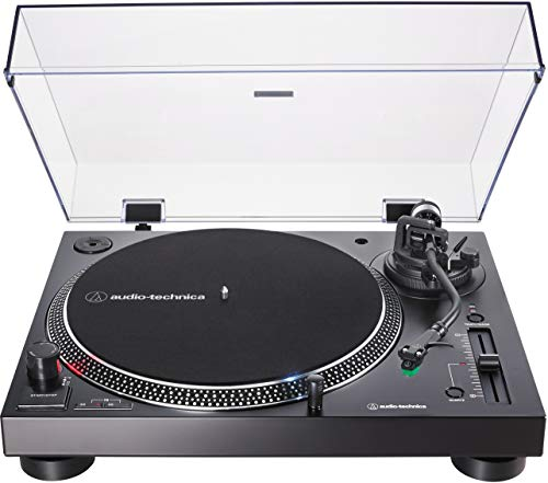 Audio-Technica AT-LP120XUSB - Giradischi con azionamento diretto, pick-up incluso, AT-VM95E &...