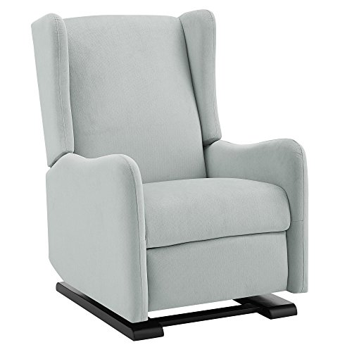 Baby Relax Rylee Gliding Recliner, Light Gray