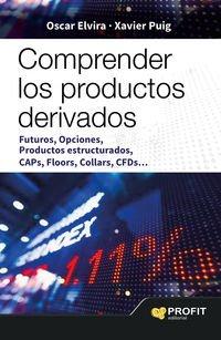 Comprender los productos derivados: Futuros, opciones, productos estructurados, caps, floors, Collar