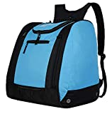 AUMTISC Ski-Backpack Boot-Bags Ski Bags for Skis Snowboarding Travel Luggage Lightweight Durable Blue
