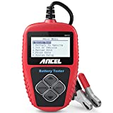 ANCEL BA101 Professional 12V 100-2000 CCA 220AH Automotive Load Battery Tester Digital Analyzer Bad...
