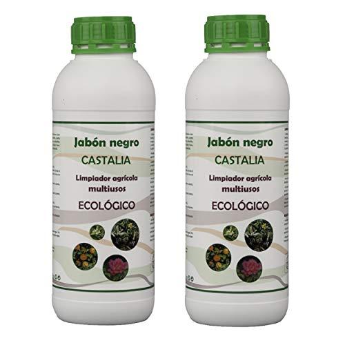 Castalia Jabón Negro Ecológico - Pack 2 de litros Total -