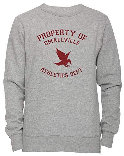 Smallville Athletics Hombre Camiseta Cuello Redondo Gris Manga Corta Tamaño M Men's Women's Jumper Grey Medium Size M