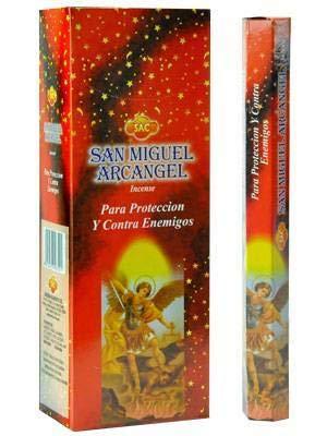 SAC Incienso San Miguel ARCANGEL Original 6 Cajas X 20 Stick