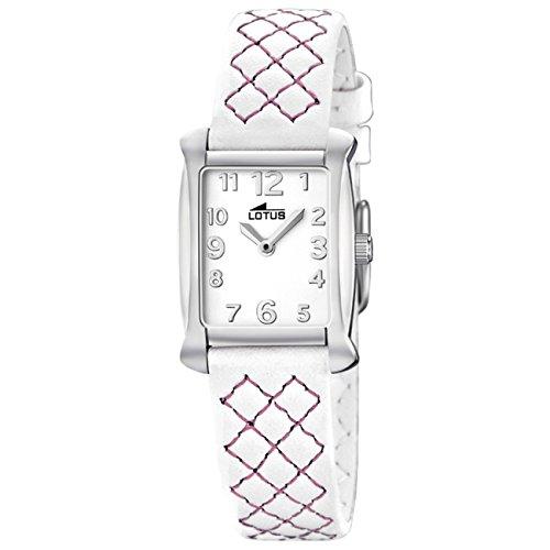 Lotus Damen Analog Quarz Uhr mit Leder Armband 15711/5