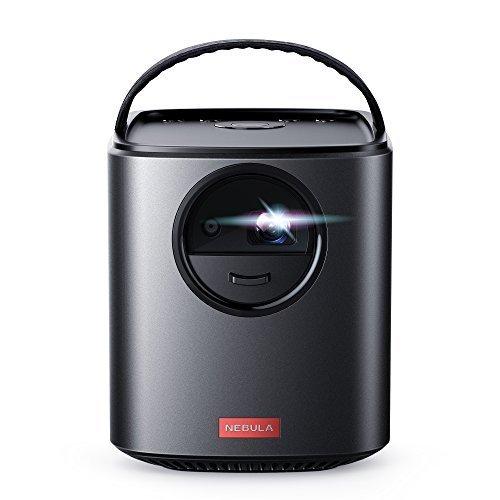 Nebula MarsII,par Anker,projecteur Portable de cinéma à Domicile,300lumens ANSI avec Image DLP 720p de 30à150Pouces,Divertissement à Domicile,Enceintes 10W,Android 7.1
