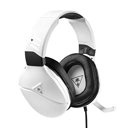 Turtle Beach Recon 200 Bianco Cuffie Gaming Amplificate per PlayStation 4, Cablate