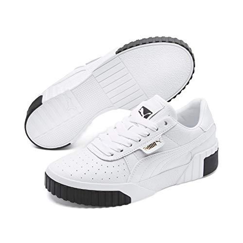 Puma Damen Cali WN\'s Sneaker, Weiß (Puma White-Puma Black), 42 EU