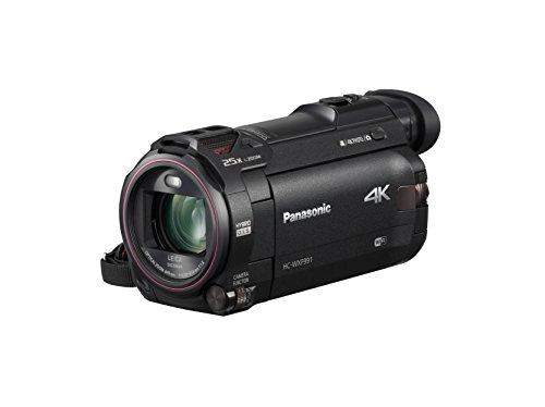 Product Image 1: Panasonic 4K Cinema-Like Video Camera Camcorder HC-WXF991K, 20X Leica DICOMAR Lens, 1/2.3