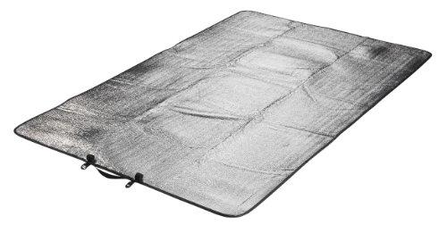 Grand Canyon Aluminium Kompakt -/ Alu-Isolier-/ Thermo-/ Isomatte / Isolierende Unterlage, als Wärmeschutz, für Camping, Outdoor, Wandern, Reisen, 190 x 55 cm, 305002