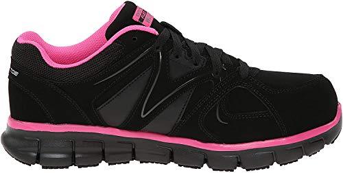 Skechers for Work Women's Synergy Sandlot Alloy Toe Lace-Up Work Shoe