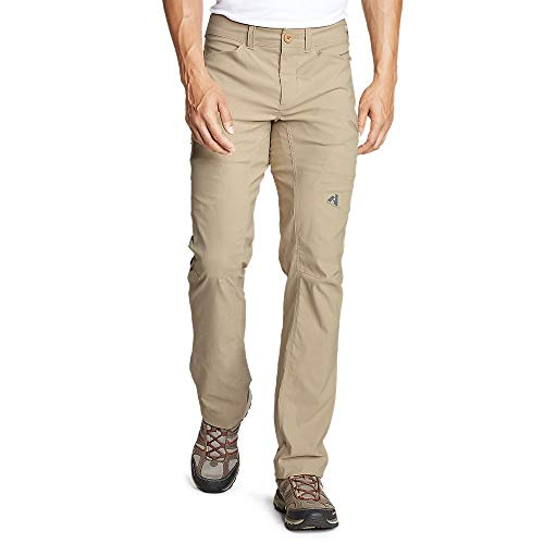 Eddie Bauer Men's Guide Pro Pants, Lt Khaki Regular 33/32