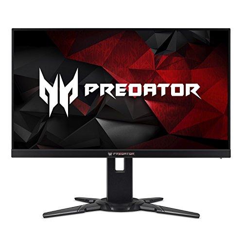 Acer Predator XB252Q Bmiprz 24.5-Inch Full HD (1920x1080) NVIDIA G-Sync Monitor...