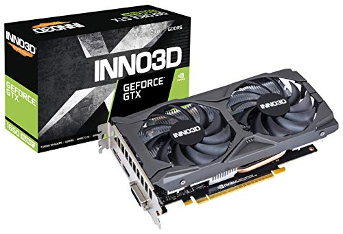 Inno3D GeForce GTX 1650 Super Twin X2 OC 4GB GDDR6 Scheda Grafica DP/HDMI/DVI