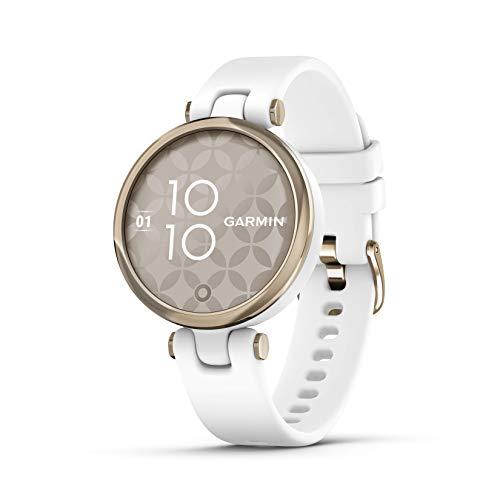 Garmin Lily Sport, Reloj Inteligente pequeño y Elegante - Blanco...