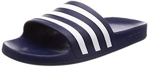 adidas Adilette Aqua, Scarpe da Spiaggia e Piscina Unisex-Adulto, Blu (Navy F35542), 40.5 EU