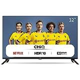 CHiQ L32H7N HD Smart TV, 32 Pouces, WiFi, Netflix, Youtube, Prime Video, Facebook, HDR, DVB-T2/C/S2,Frameless Design