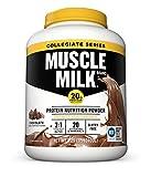 Muscle Milk Collegiate Protein Powder, Chocolate, 20g Protein, 5.29 Pound